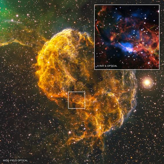 Pulsar-in-Jellyfish-Nebula