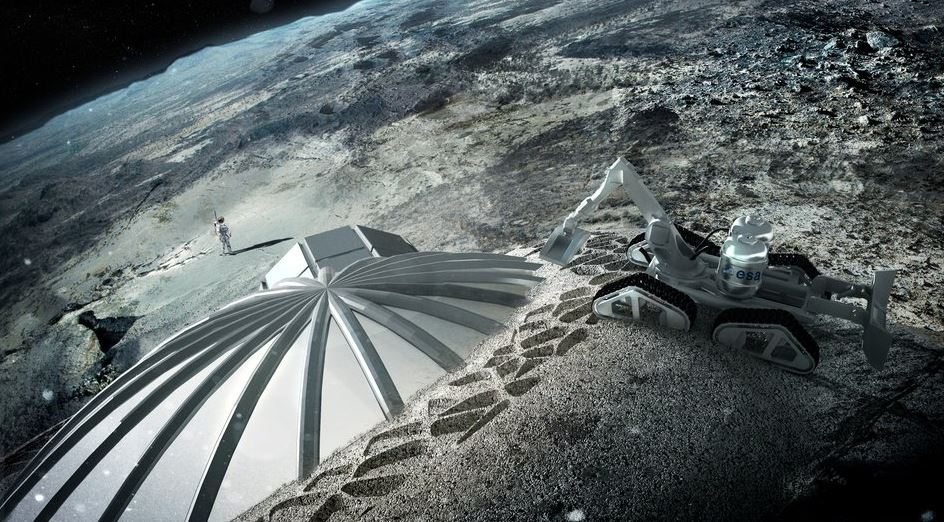 Moon-base-being-constructed-using-3-D-printer